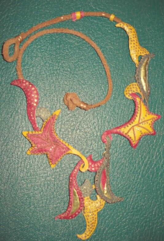 Natural leather  By :Aya Fayez