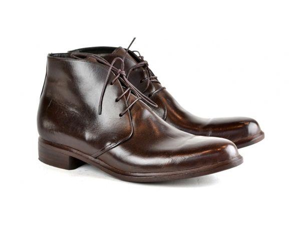 ANDREW MCDONALD SHOEMAKER - Choc cordovan leather desert boot. Made in Australia.