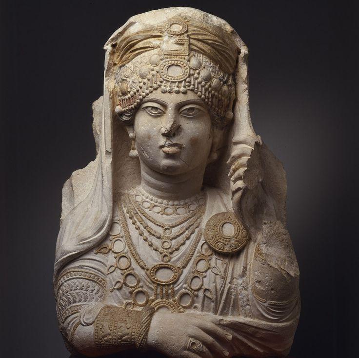 Queen Zenobia -3rd century Palmyrene Empire(Roman Syria) lead revolt against The Roman Empire