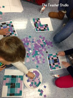 Project Day:  Visualizing in Math!  Check out this fun project!