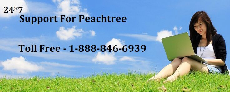 Sage Peachtree Technical Support @ +1-888-846-6939