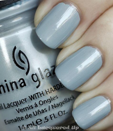 China Glaze - Sea Spray. One of my favorite China Glaze polishes ever.