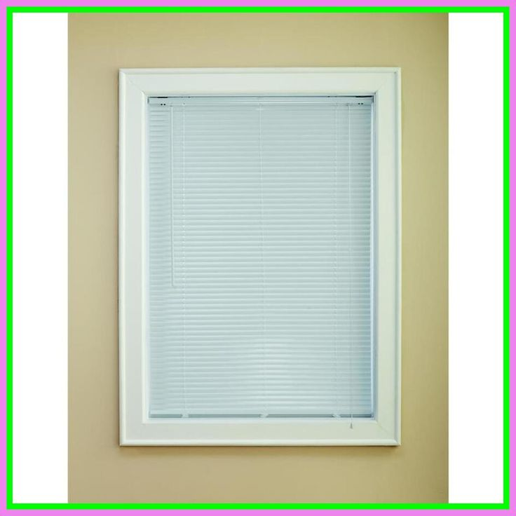 64 Reference Of White Room Darkening Mini Blinds In 2020