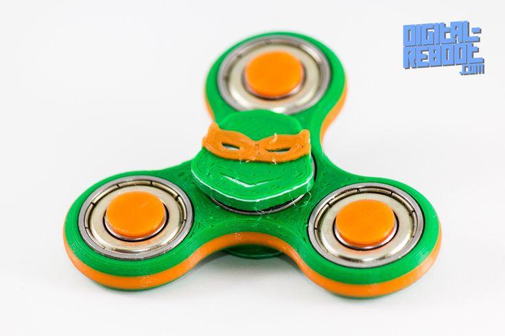 Ninja Turtle Fidget Spinner