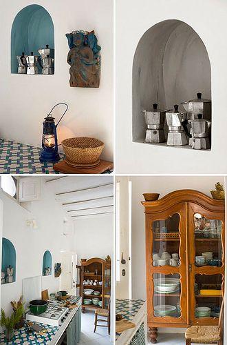 Summer House on Panarea, an eolian island in Sicily, Italy