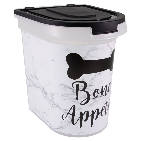 Falmouth Marble Bone Appetit 26 Oz Food Storage Container Food