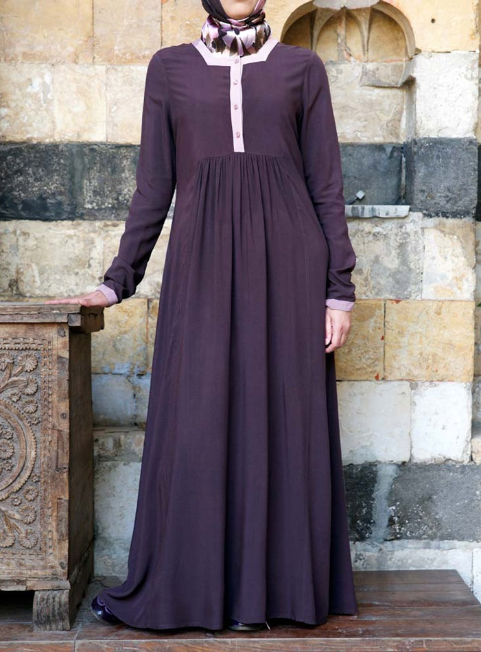 Shujana Dress #shukr #abaya www.shukrclothing.com