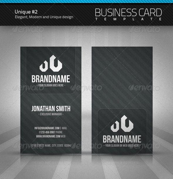 54 best business card designs images on pinterest business card unique business card 2 reheart Choice Image
