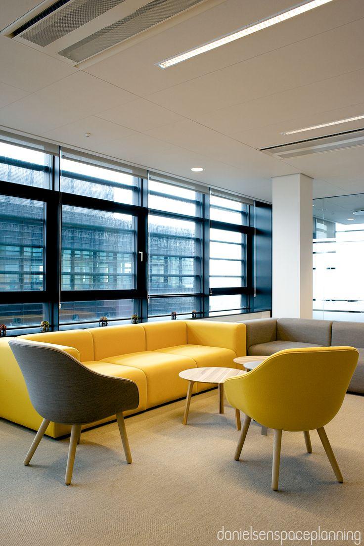 Lounge - Spies' office in Copenhagen. Spaceplanning and interior design by Danielsen Spaceplanning.
