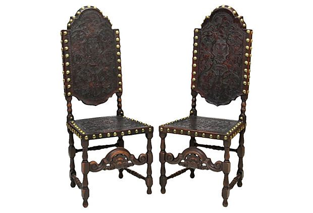 1000 images about chairs on pinterest for Spanish baroque furniture