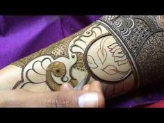 How to apply Most beautiful Mehndi design ever for bride | Full hand wrist Mehndi design for wedding - YouTube