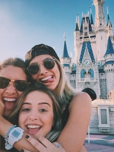 friends and disney image