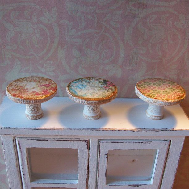 14 best images about dollhouse miniature shabby chic accessories on pinterest miniature. Black Bedroom Furniture Sets. Home Design Ideas