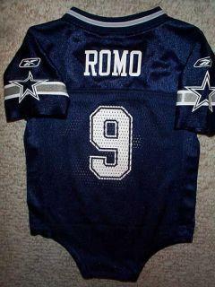 Tony Romo Baby   2011 2012 Dallas Cowboys Tony Romo NFL Infant Baby Newborn Jersey 18M