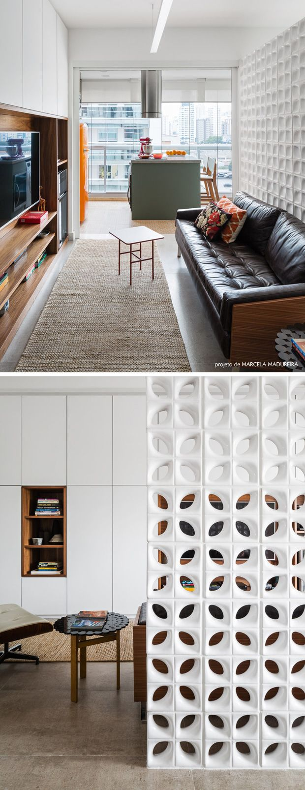 3 room dividers that don't block natural lighting #decor #cobogo #divisorias #casa #paredes #walls