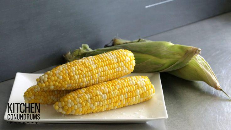 How to Remove Corn Silk