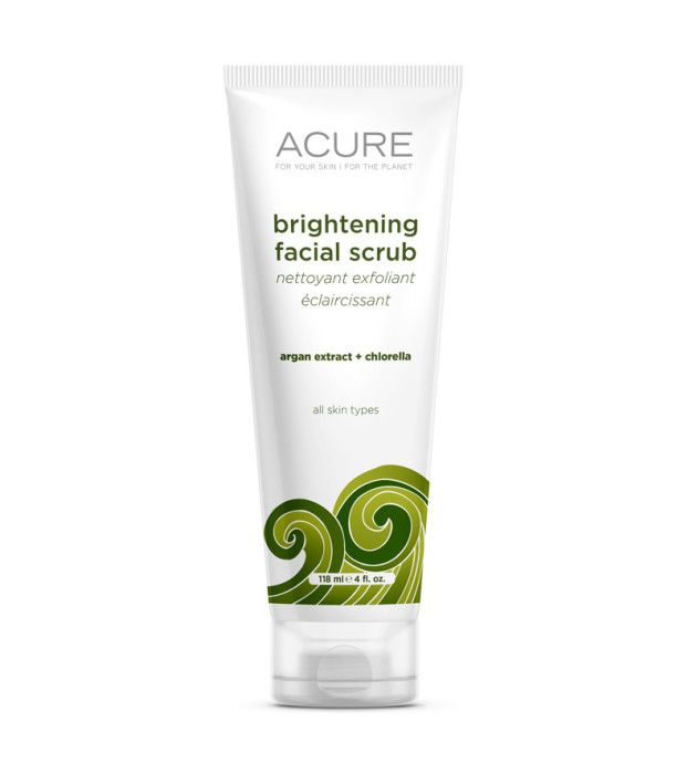 Acure Brightening Facial Scrub Review