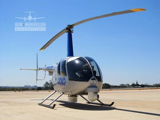 Robinson R44 Raven II - PR-GHD #122 ✈ https://www.youtube.com/airbrasiliaavia...