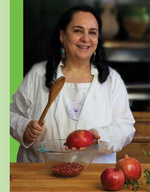 "Najmieh's Kitchen website & ""Food of Life"" Persian cookbook."