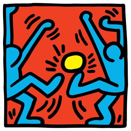 Untitled Art Print by Keith Haring at King & McGaw