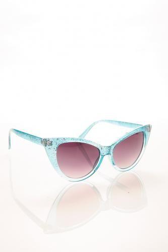 Rocker Cat Eye Sunglasses PINK