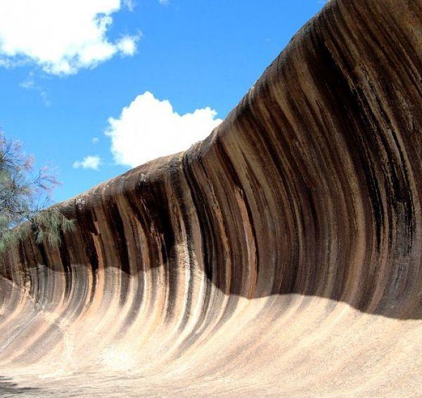 Волны, растущие из земли волна, Скала, Интересное, Австралия