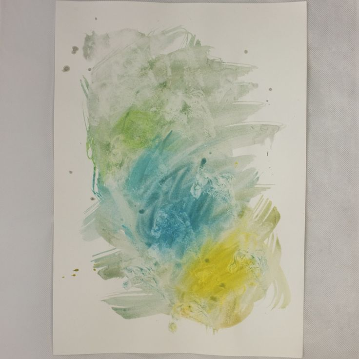 Water colour art A3
