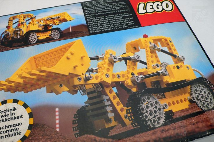 LEGO TECHNIC Set 856 OVP Raupenbagger - cyan74.com vintage and pop culture