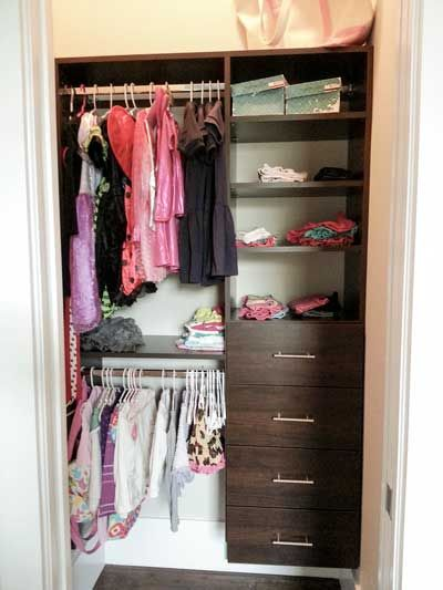 Kid Closet Drawers And Closet On Pinterest