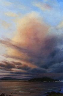 Dramatic seascape by Australian artist Mark Waller