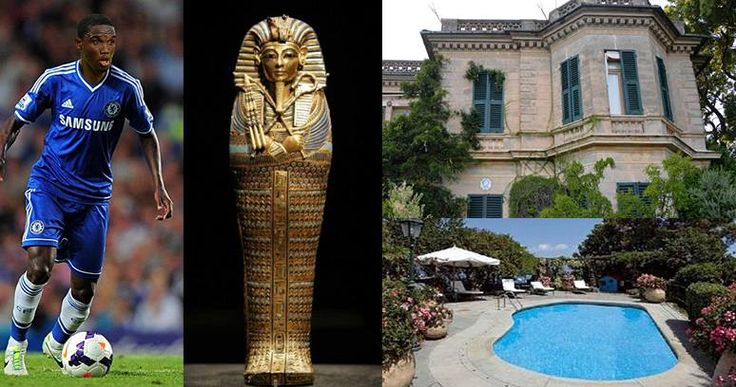 Former #Chelsea #Football star Samuel Eto'o's 'o is set to pay £18.5m for a mansion cursed by #Tutankhamun in #Italy