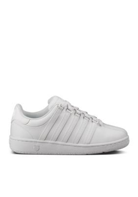 K-Swiss Girls' Youth Vn Classic Sneaker - White/White - 4.5M Youth