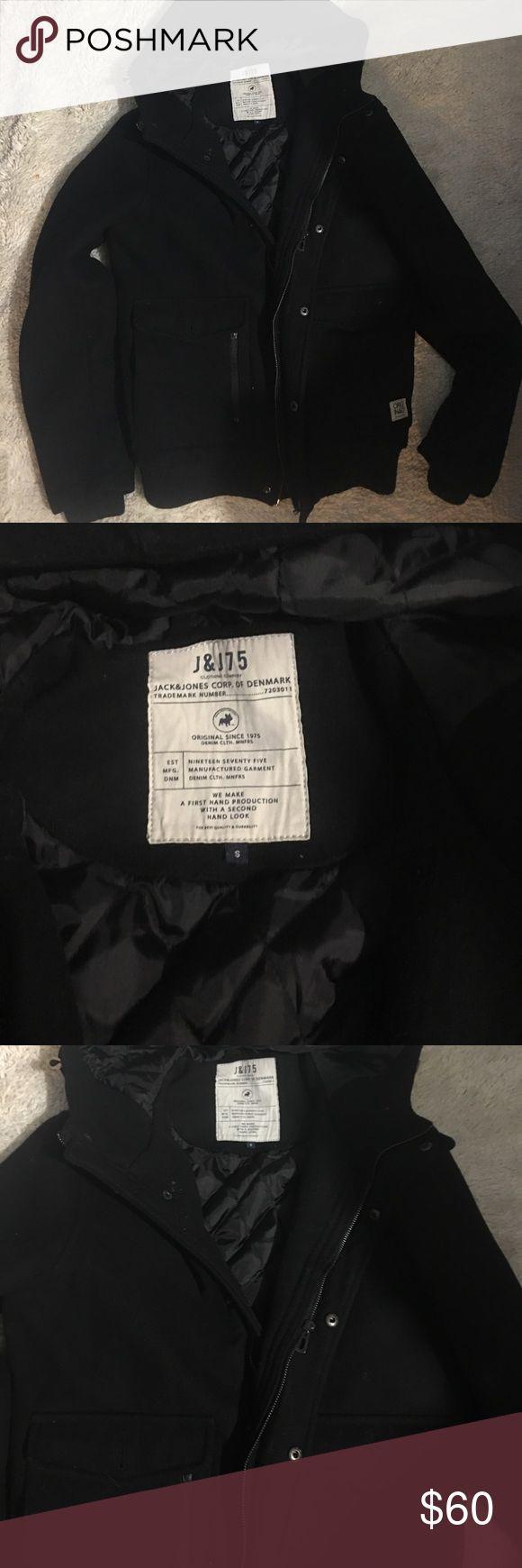 Jack and Jones wool coat S Great condition and so warm Jack and Jones Jackets & Coats
