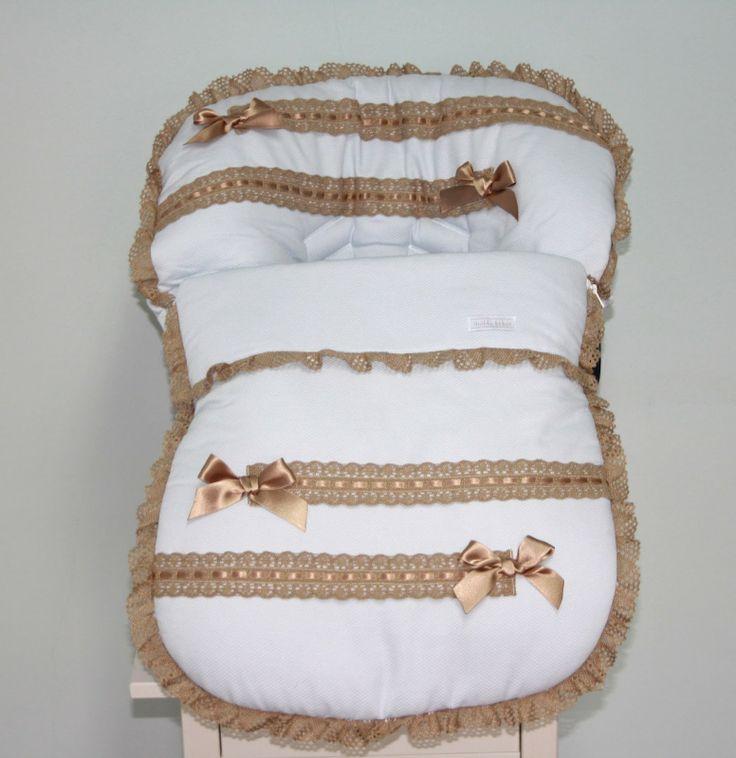Saco lencero para #maxicosi #modapaseo #modainfantil #modabebes #bebes #maternidad
