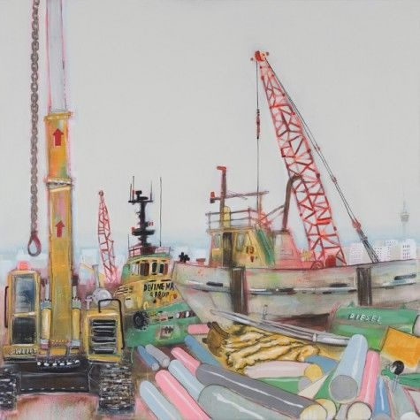 Devine Marine Yard 2 by Adam Lester