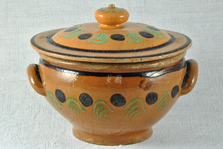 Terracotta Dish  More at www.heurebleueantiques.com