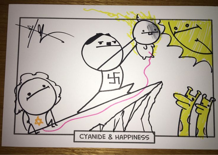 I asked the guys from Cyanide & Happiness to draw me something offensive. They delivered!