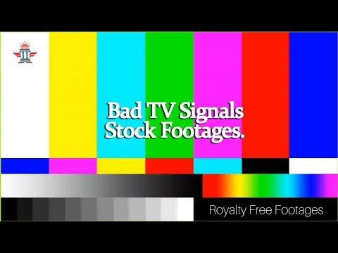 Get this Bad TV Signals & Glitch Video footages--Hd Royalty Free Footages & Stock Videos.Also check our website for more such videos