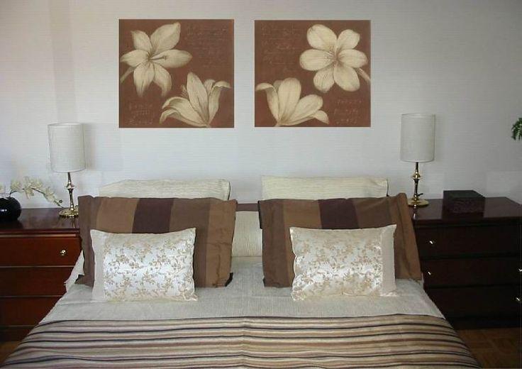 cuadros para dormitorios matrimoniales modernos