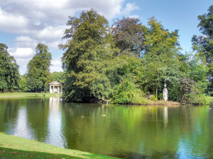 Althorp House (Princess Diana's Childhood Home). Princess Diana is buried on the island in the middle of the lake.