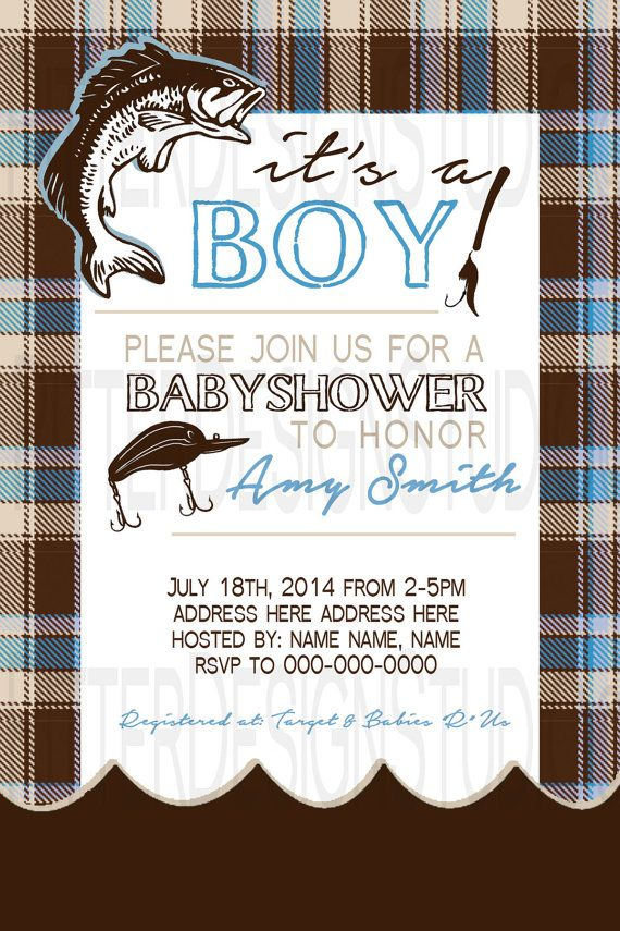 fishing baby showers on pinterest fishing party themes gone fishing