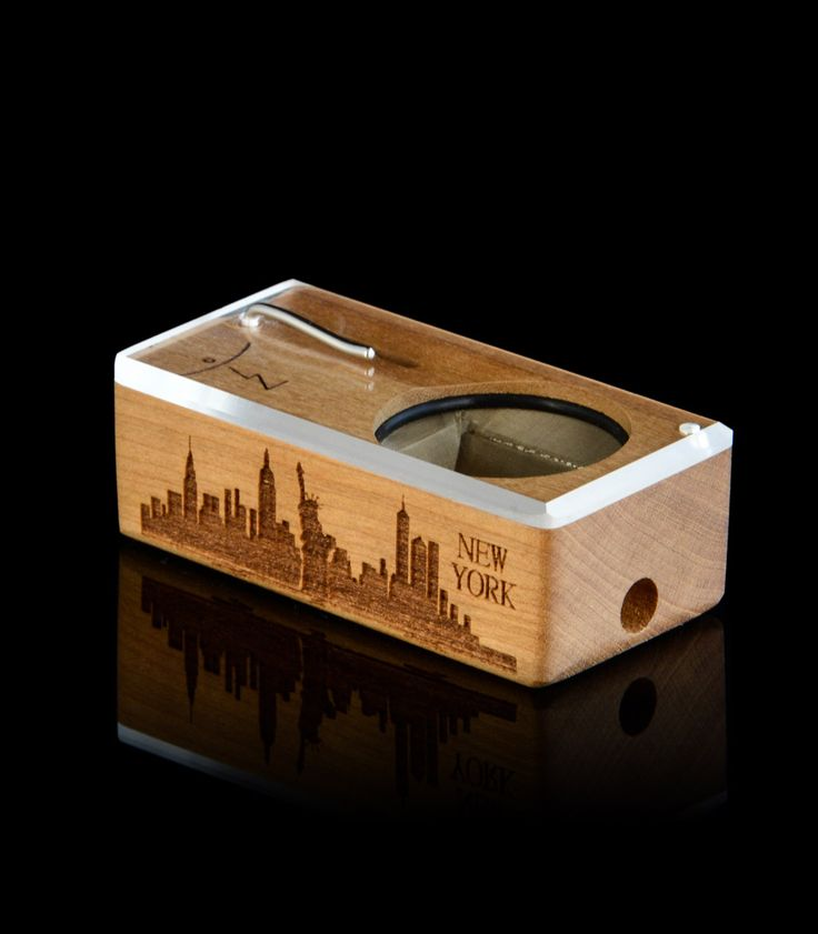 Cityscape - New York commemorative Launch Box line features the city's iconic skyline laser etched on the side of each Box, a symbol of the pride, culture and resilience this city represents.