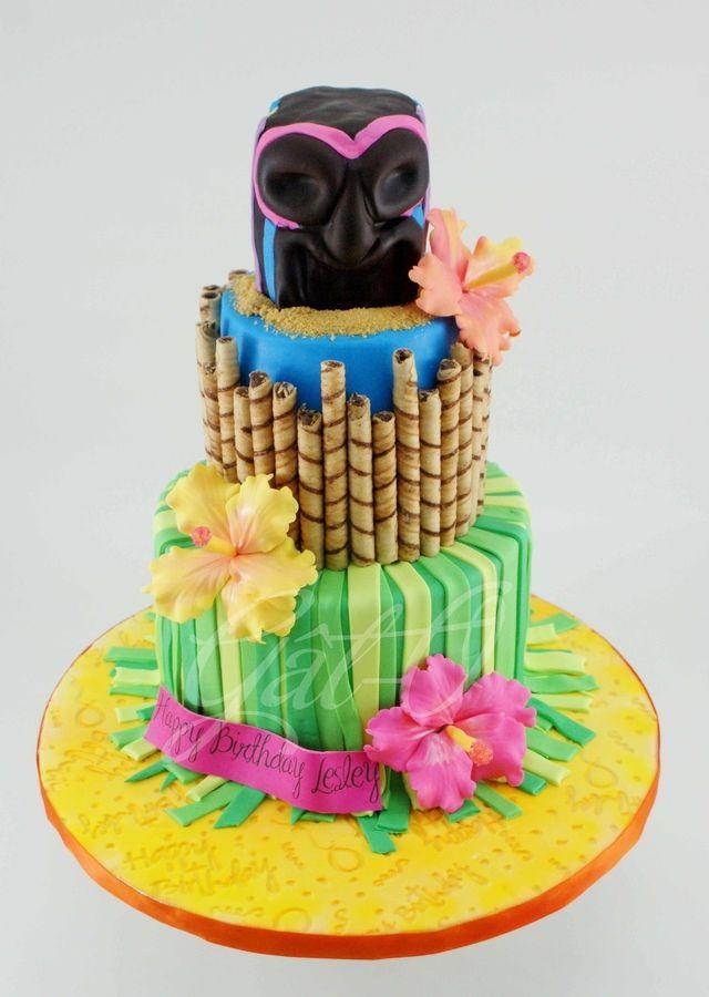 24 best Retro Tiki images on Pinterest Luau appetizers Luau cakes
