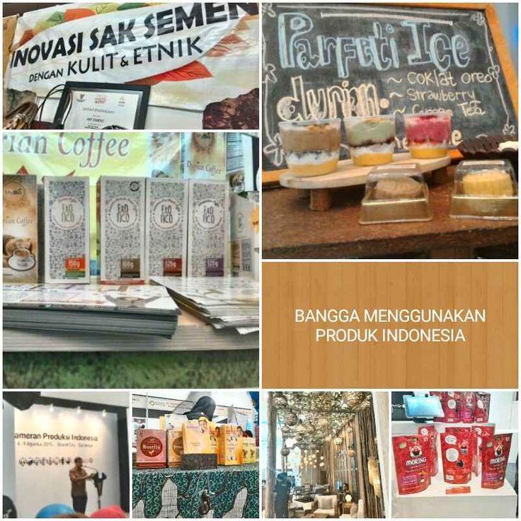 Bangga Menggunakan Produk Indonesia Pameran Produksi Indonesia 2015
