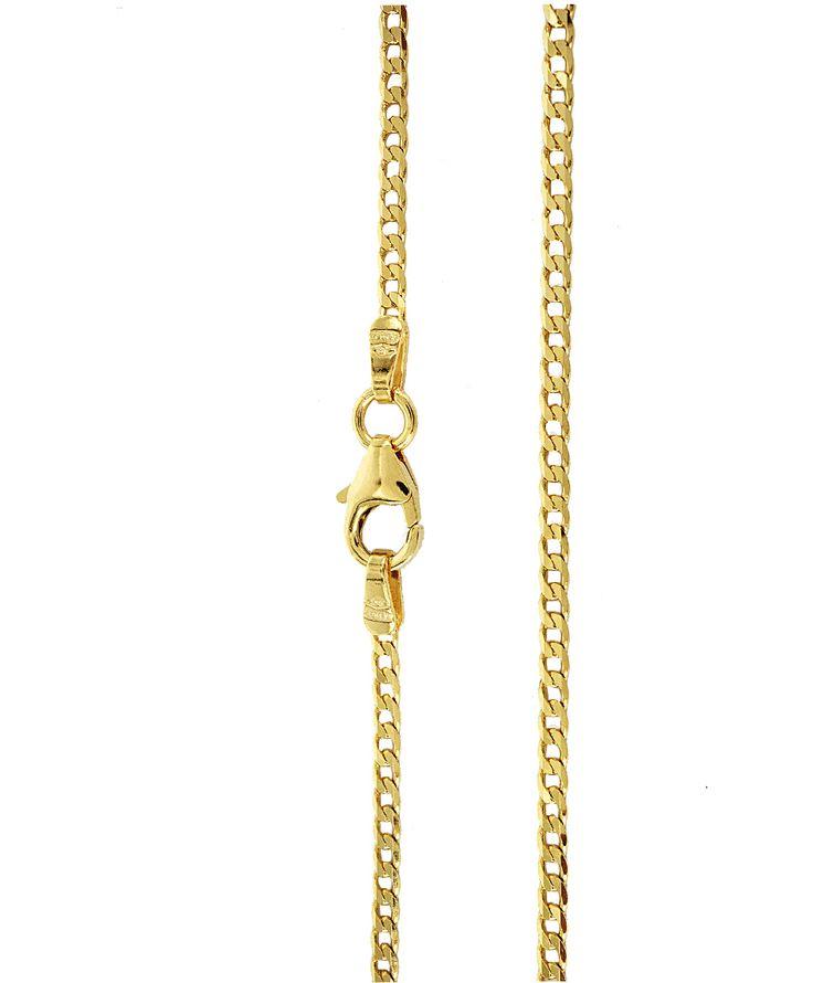 Αλυσίδες : Αλυσίδα χρυσή Κ14-55cm AL125