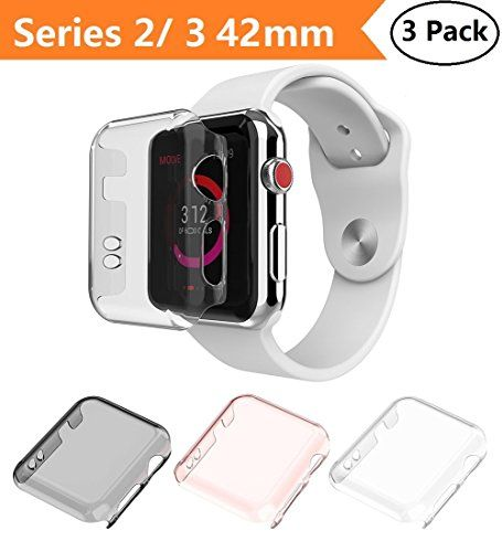 Apple Watch Series 2 & Series 3 Case 42mm, Monoy New [3 Pack] [Ultra Thin] Slim HD PC Screen Protector Protective Cover for iWatch 2 iwatch 3 42mm (Series 2/3 42mm) #Apple #Watch #Series #Case #Monoy #Pack] #[Ultra #Thin] #Slim #Screen #Protector #Protective #Cover #iWatch #iwatch #(Series