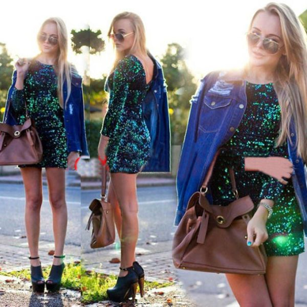 Beautiful Sequin Dress... I NEED this for my birthday!