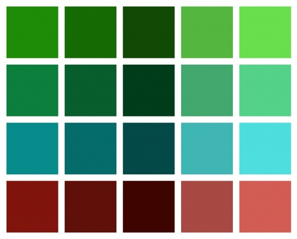 17 best images about analogous color scheme on pinterest for Analogous colors are