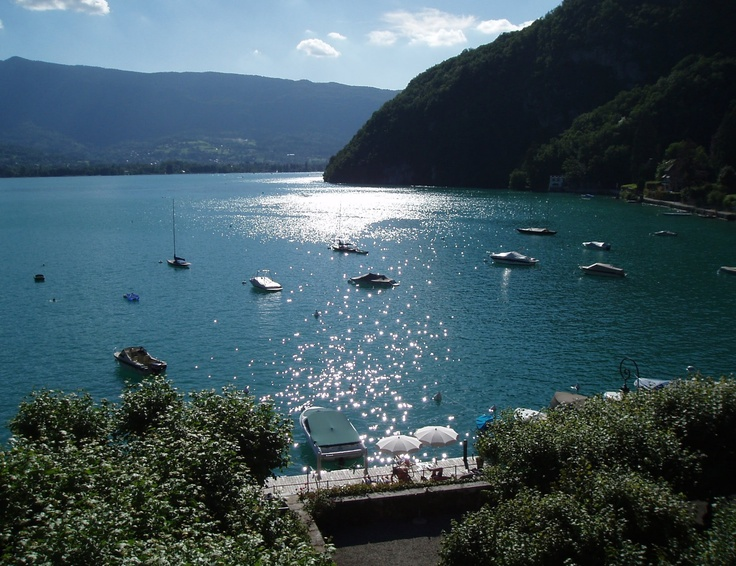 View of Lake Annecy from Talloires