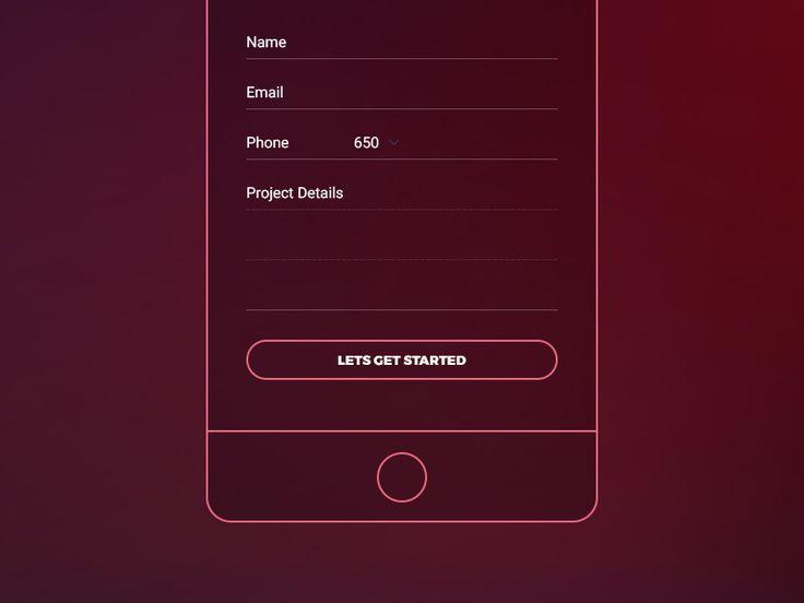 F3 Mobile Landing Page by Arif Kamal